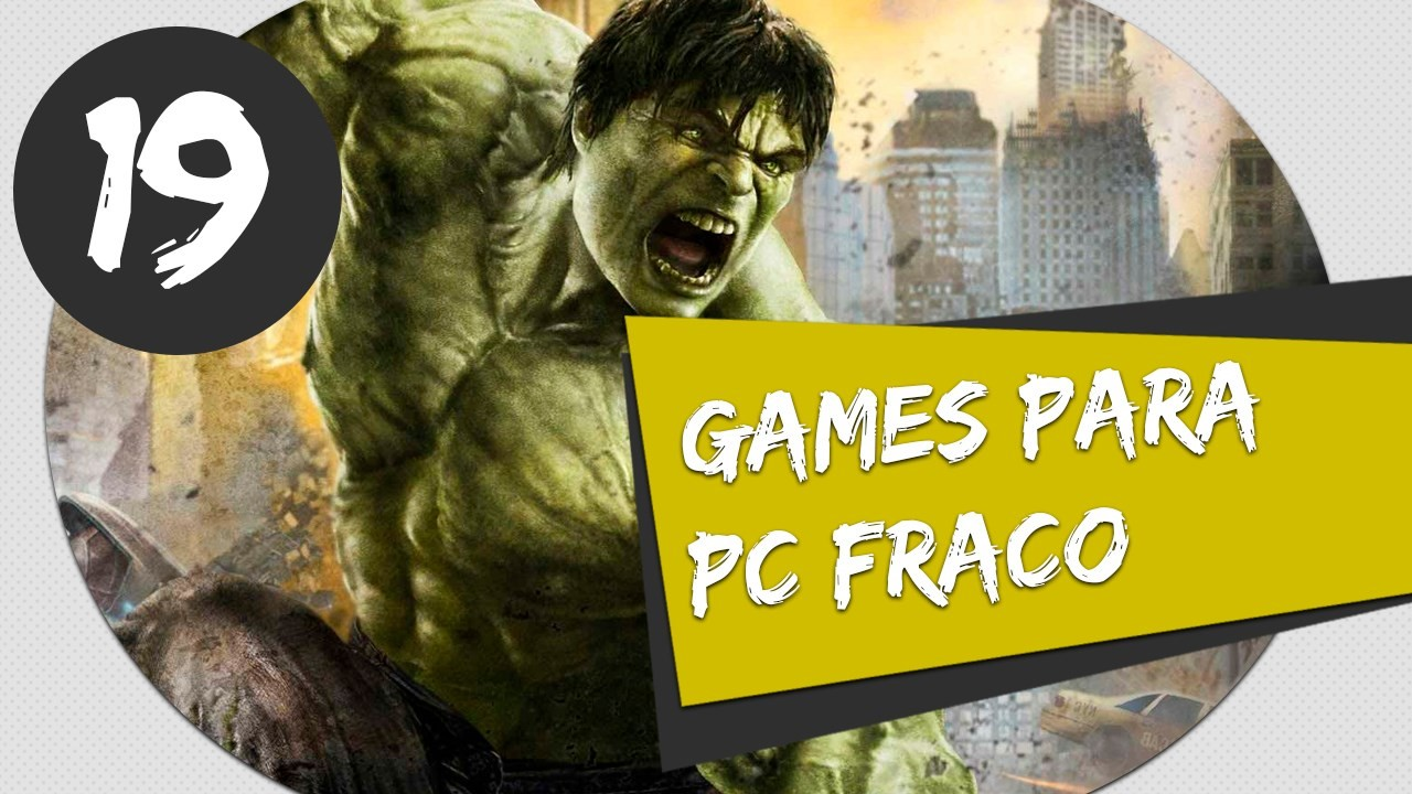 GAMES PARA PC FRACO - THE INCREDIBLE HULK