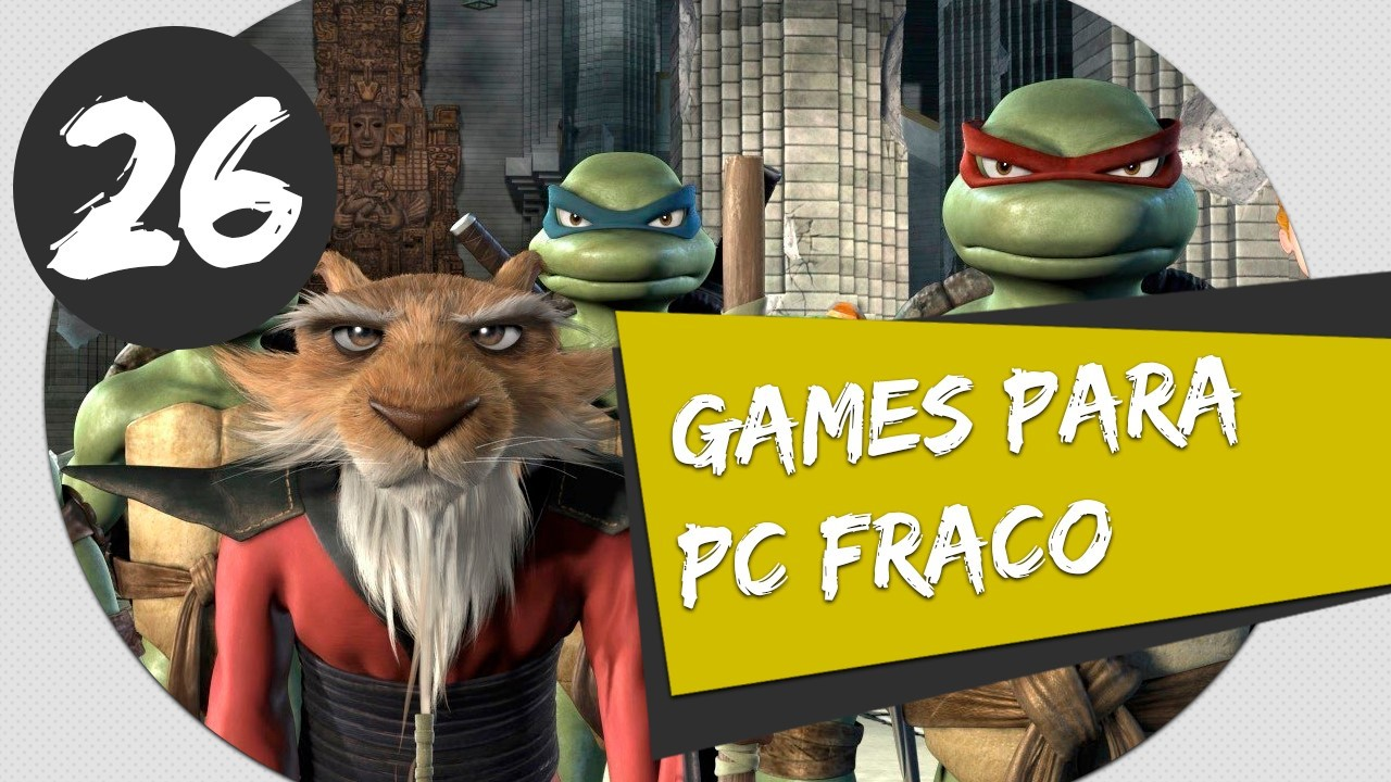 GAMES PARA PC FRACO - TMNT TEENAGE MUTANT NINJA