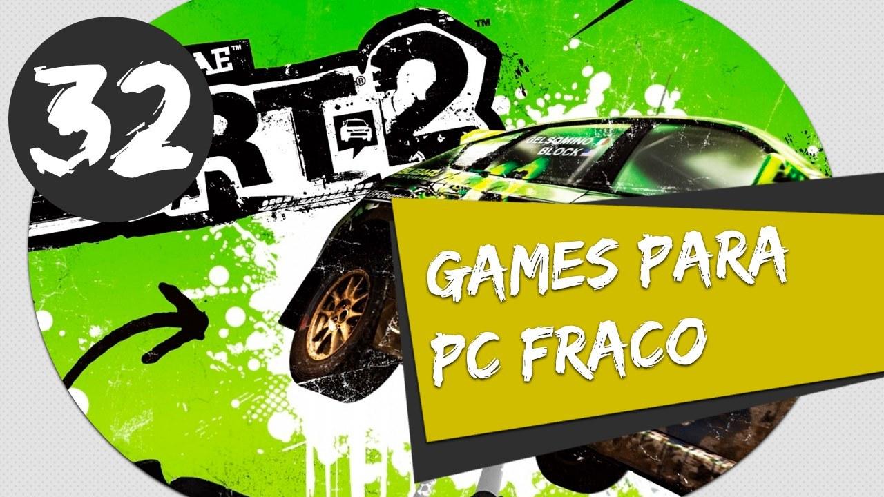 GAMES PARA PC FRACO - DIRT 2