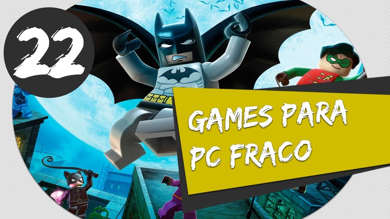GAMES PARA PC FRACO LEGO BATMAN THE GAME