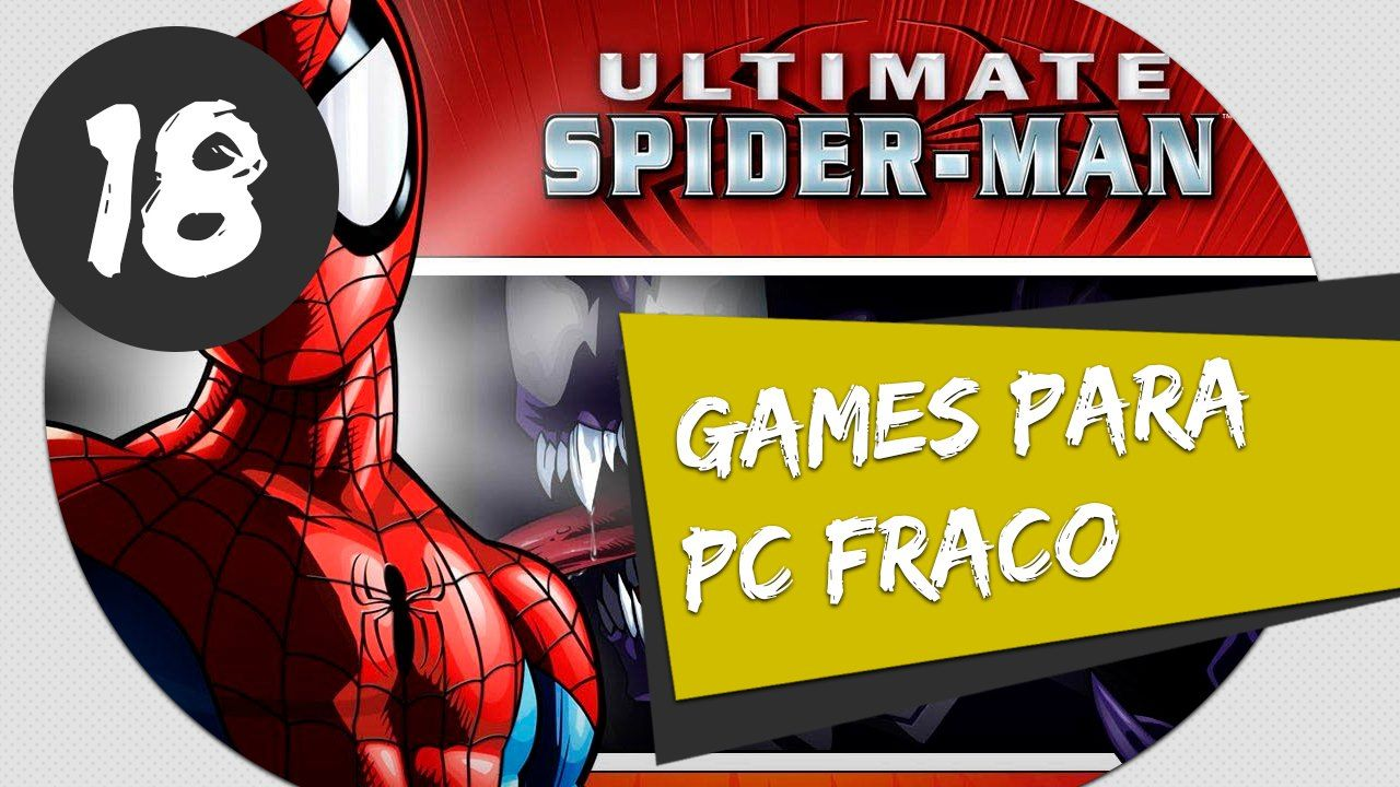 GAMES PARA PC FRACO ULTIMATE SPIDER MAN