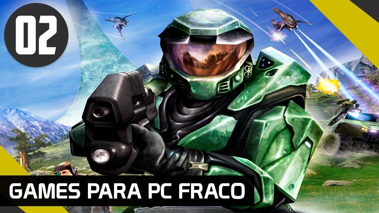 HALO 1 - GAMES PARA PC FRACO
