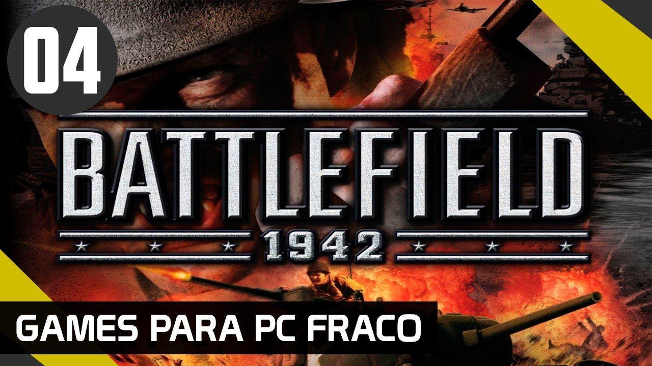 BATTLEFILED 1942 - GAMES PARA PC FRACO