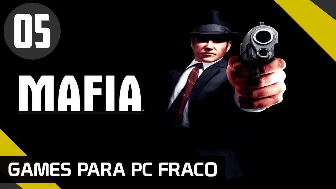 MAFIA 1 - GAMES PARA PC FRACO