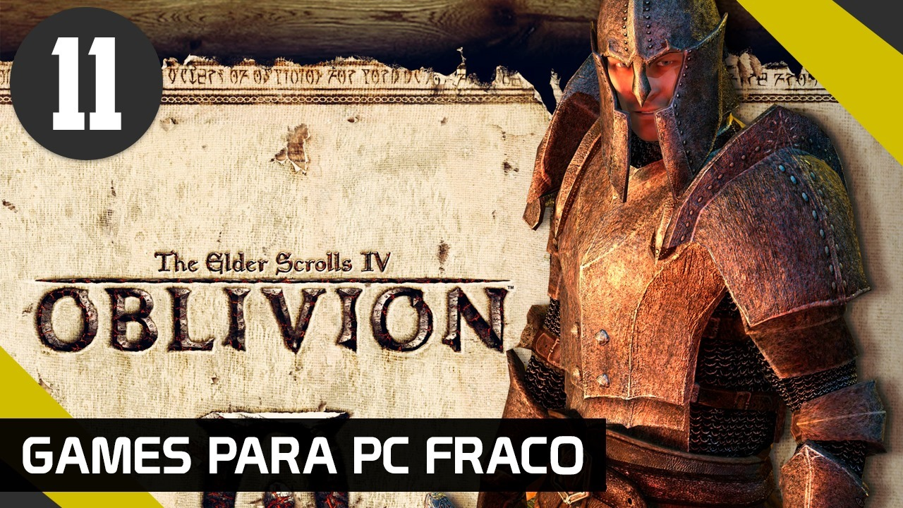 THE ELDER SCROOLS IV OBLIVION - GAMES PARA PC FRACO
