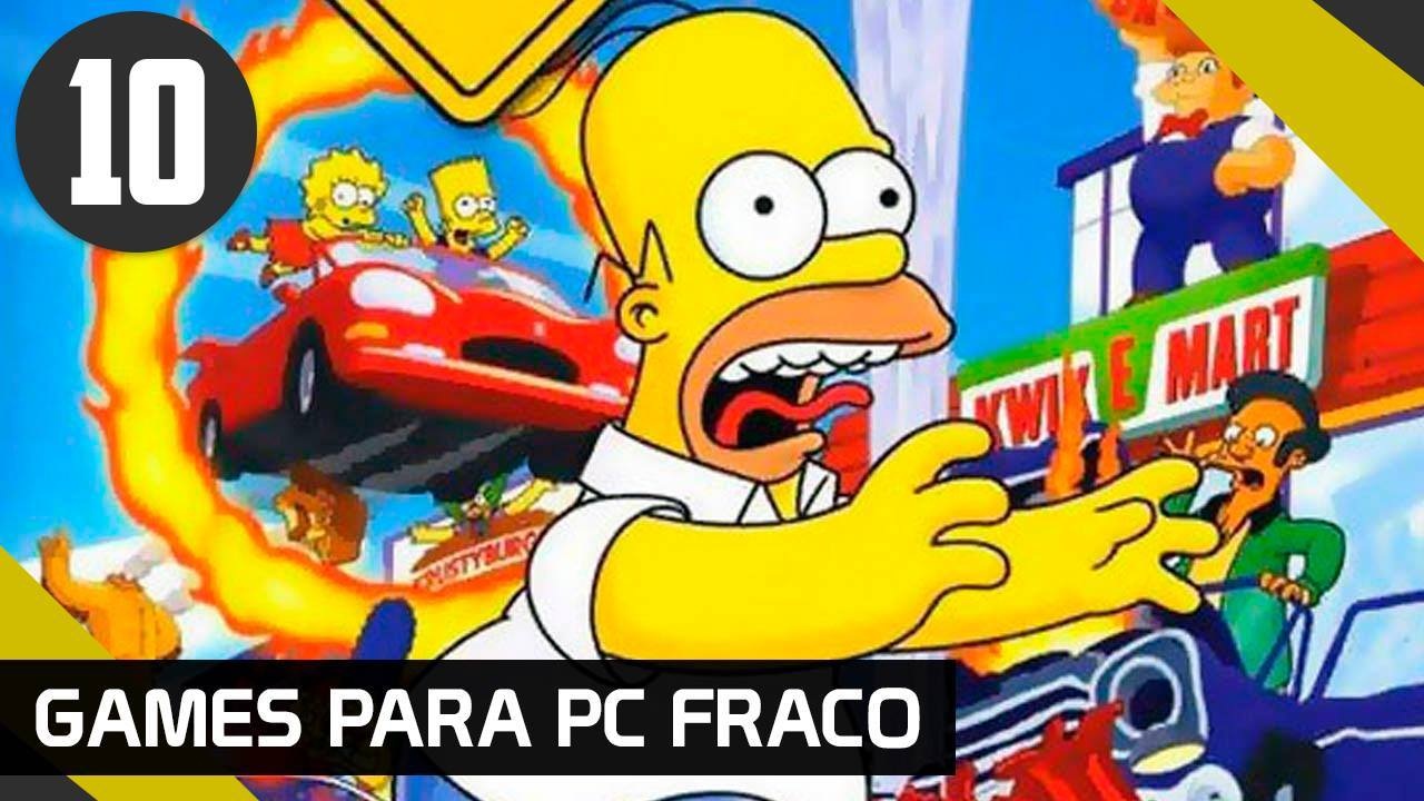 THE SIMPSONS HIT AND RUN - GAMES PARA PC FRACO