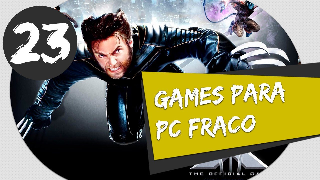 GAMES PARA PC FRACO - XMEN THE OFFICIAL VIDEO GAME