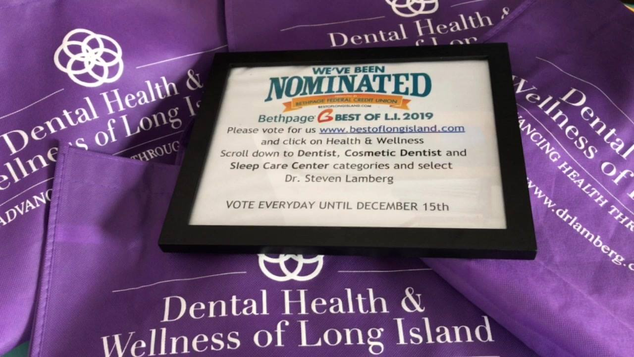 We're jumping for joy that we've been nominated again for best sleep care center, best dentist and best cosmetic dentist for 2019  Help us be the best again #winner2018 #sleepapnea #snoring #teamlamberg #bestofli #longisland #northportny #vote4us Bes