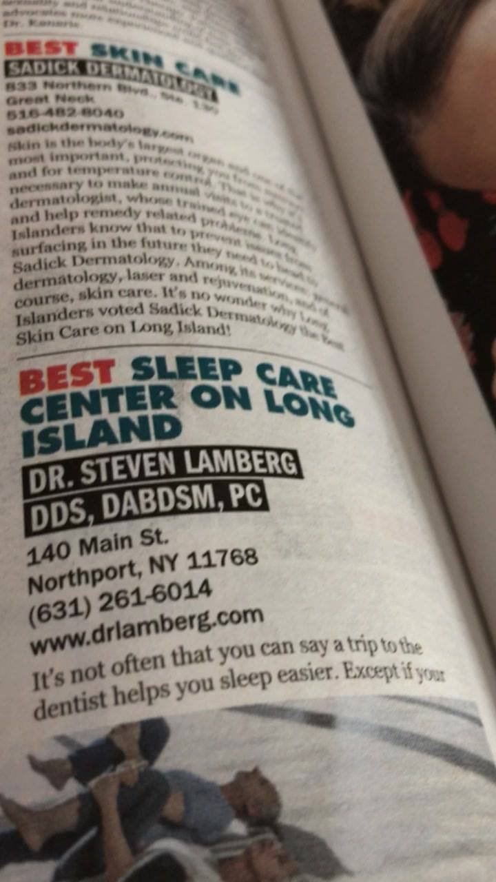 #bestofli #tbt #2018 #winner #sleepcarecenter #vote4us bestoflongisland.com