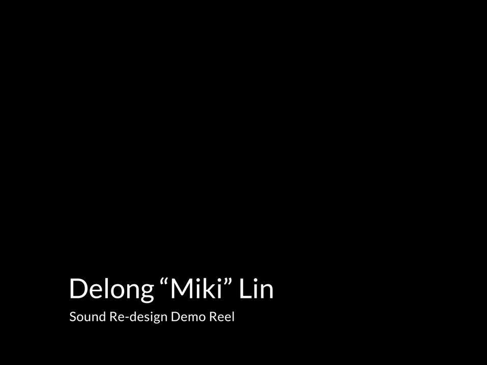 Demo Reel Compilation