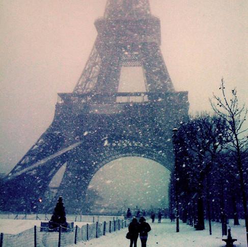 Paris au chaud.