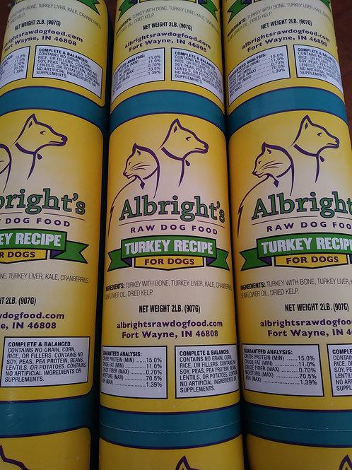 Albright's Turkey 2lb chub case 32lbs