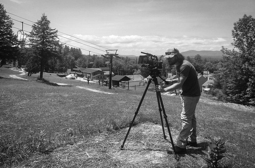 Ansel Adams on the Hill BTS (Magic Mount