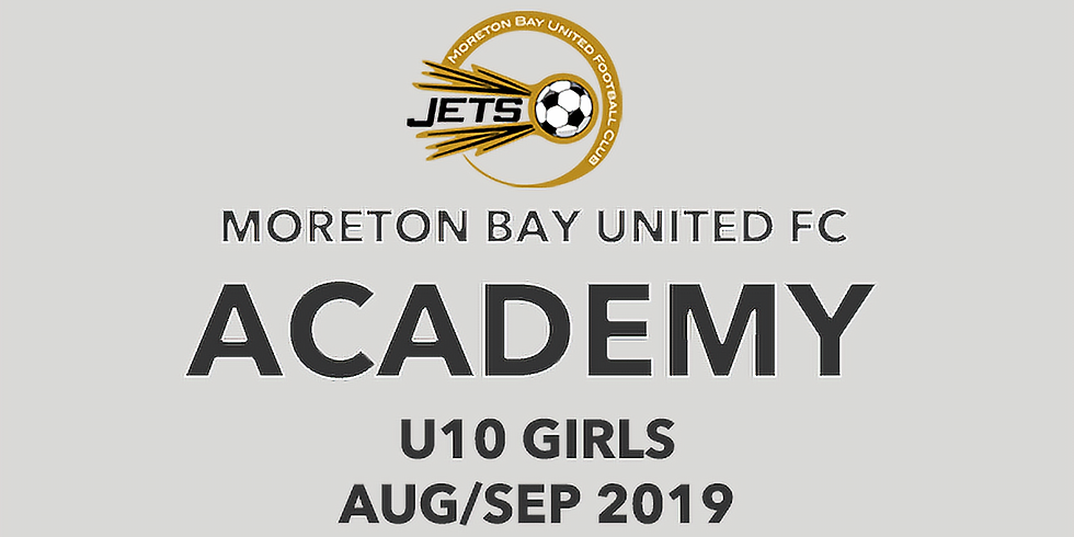 U10 Girls - MBU Academy Program  Aug - Sep 2019