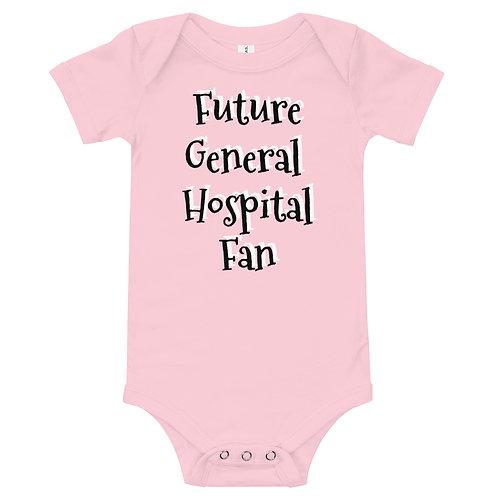 Future General Hospital Fan Onesie