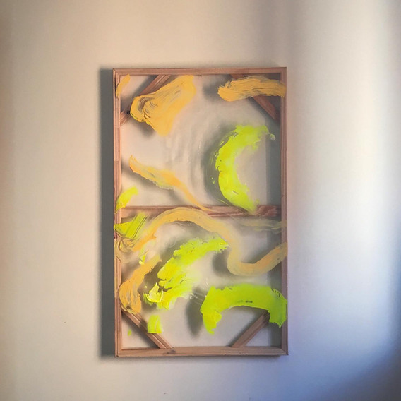 Aubade in yellow and peach