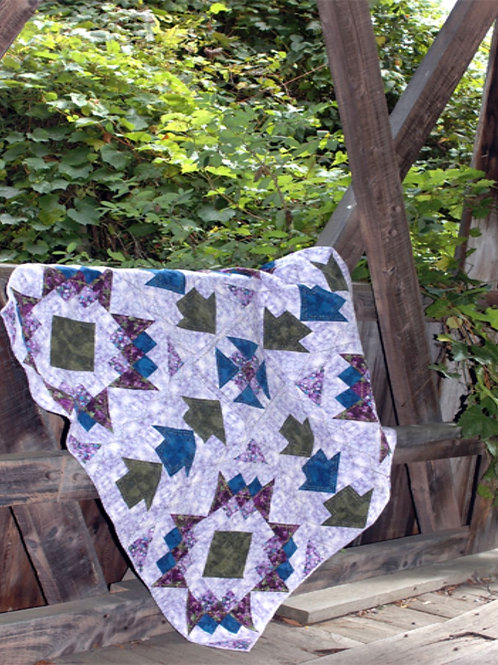 Pattern - #1 Monkey Wrench StarQuilt Pattern