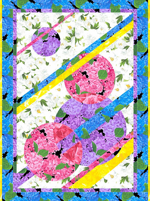 Pattern - #78 - Flower Patch wall hanging