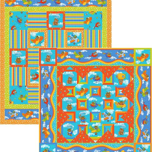 Pattern - #102 - Two FlyingBears