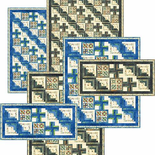 Pattern - #129 - Grannie's Log Cabin