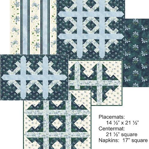 Pattern - #44 - Snowflakes Table Set