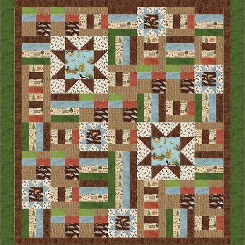 Pattern - #99 - Cabin Star