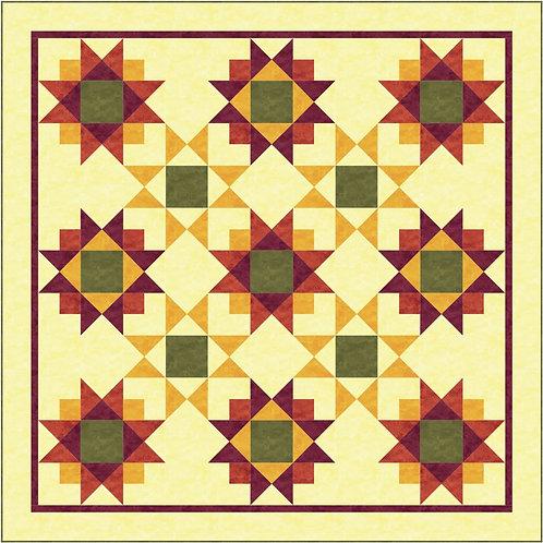 Pattern - #20 SunKissed Quilt