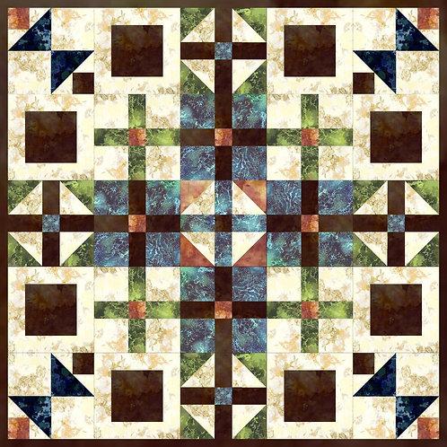 Pattern - #10 Checkerboard Quilt