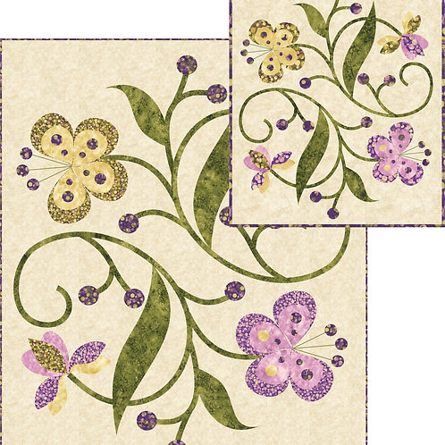 Pattern - #71 - Dancing Blossoms