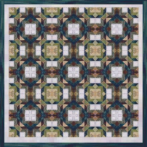 Pattern - #4 Surrey Hedgerows