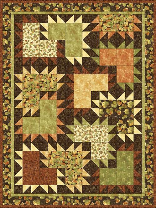 Pattern - #31 Autumn Warmth Quilt Pattern
