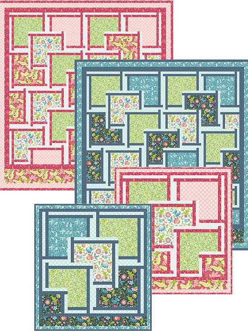 Pattern - #112 - Courante Quilt