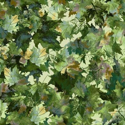 Leaf Parade - Green - 4607-74