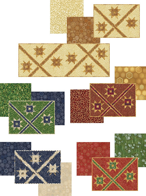 Pattern - #53 - Holiday Placemats