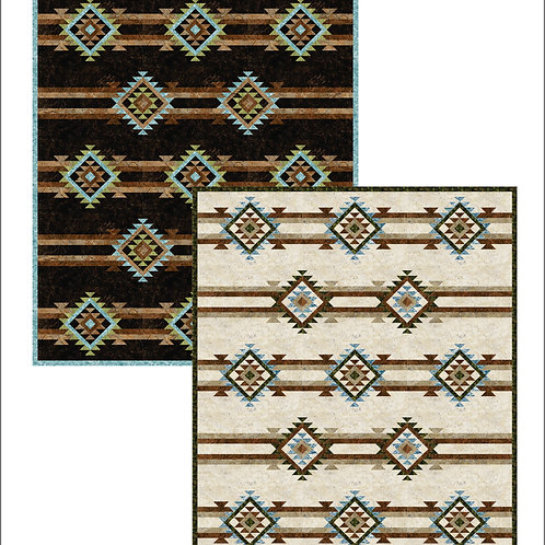 Pattern - #104B- Four Corners Bed Quilt