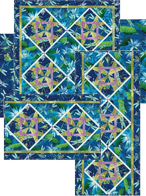 "Pattern - #116 - ""The Garden"" Table Set"