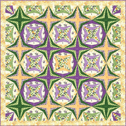 Pattern - #37 Wishing Stars