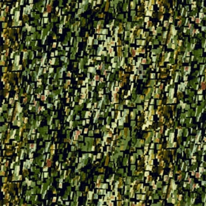 Leaf Parade - Green - 4611-74