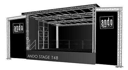 Trailerbühne, Mobile Bühne