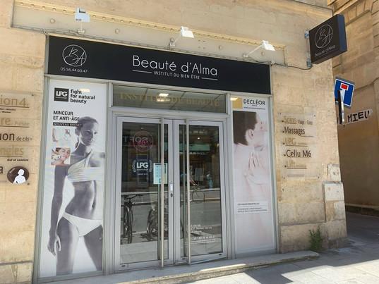Beauté d'Alma Institut de beauté Bordeaux Centre