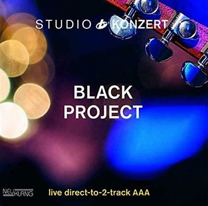 Black Project - Studio Konzert - Vinyl Edition 180g Vinyl Limited Edition (2019)