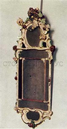 Рама для зеркала, Россия, 18 век