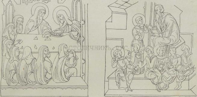Мебель на Руси 14-17 веков - лавки