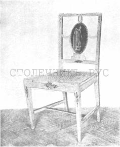 Мебель России второй половины XVIII века