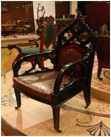 Кресло. Мастерская Генриха Гамбса. Санкт-Петербург. 1820-е гг.