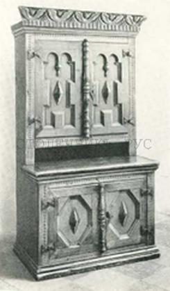 Шкаф сервант, Россия, 18 век