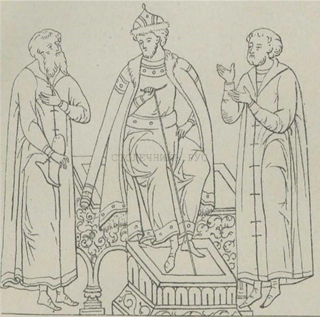 Княжеская скамья, 16 век