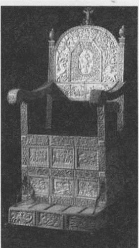 Трон Ивана Грозного - костяное кресло эпохи Средневековья