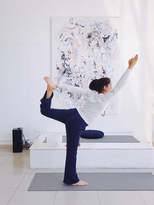 Clase de Yoga presencial y online