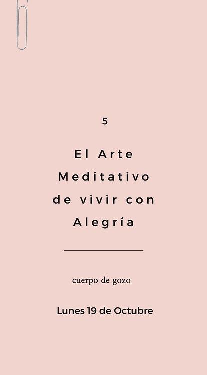 1 Arte Meditativo - Vivir con Alegría